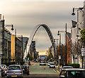 SJ8396 : Hulme Arch Bridge by Peter McDermott