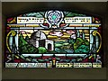 SJ8499 : Spanish and Portuguese Synagogue, Stained Glass Window (Rachel's Tomb) : Week 47