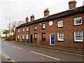 SJ7407 : Mid 19th century row of houses, Park Street, Shifnal by Jaggery