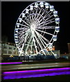 SK5804 : Leicester's 'wheel of light' : Week 49