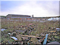 SE0632 : Former site of Denholme Velvets by John Illingworth