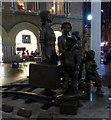 TQ3381 : Kindertransport sculpture : Week 50