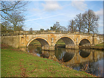 SK2570 : Chatsworth Bridge - 1 by Trevor Rickard