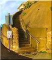 TQ3702 : Steps to the Beach, Rottingdean : Week 52
