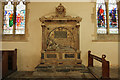 TF0904 : Lady Bridget Carre monument by Richard Croft