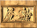 SD8304 : Coade Stone Panel, Heaton Hall by David Dixon