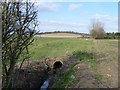 TQ4791 : Long culvert by Robin Webster