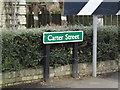 TL6270 : Carter Street sign by Adrian Cable