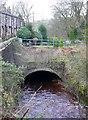 SE0426 : Culvert on Luddenden Brook by Humphrey Bolton