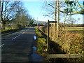 TQ1331 : Lyons Road looking westwards by Shazz