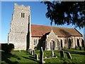 TL9513 : The Church of St. Mary the Virgin, Salcott-cum-Virley, Essex by Derek Voller