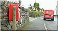 J5781 : Pressed steel postbox (BT21 316), Ballywilliam, Donaghadee (February 2016) by Albert Bridge