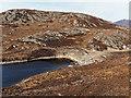 NH3854 : New dam on Loch a' Mhuilinn by valenta