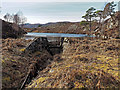 NH3855 : Dam on unnamed Loch by valenta
