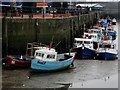 NZ2664 : Boats moored at the mouth of the Ouseburn by Graham Robson