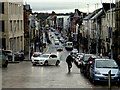 H4572 : Courthouse Brae / High Street, Omagh by Kenneth  Allen