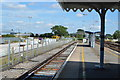 TQ6745 : Platform 3, Paddock Wood Station by N Chadwick