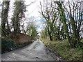 ST0412 : Rear access road, Mountstephen House by Roger Cornfoot