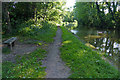 SJ6175 : Towpath along the Trent & Mersey Canal by Mat Fascione