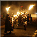 HP6000 : Start of the procession, Uyeasound Up Helly Aa 2016 : Week 6