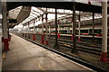 SJ7154 : Pillars, Crewe Station by Richard Sutcliffe