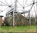 TG2502 : Nissen hut beneath tower 4 by Evelyn Simak