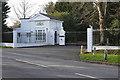 SU8671 : The Lodge, Warfield Hall by Alan Hunt