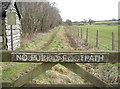 ST5658 : This is not a footpath by Neil Owen