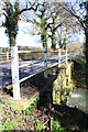 SP4511 : Bridge for Yarnton Road over stream by Roger Templeman