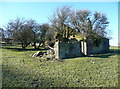 SE0321 : Ruins of Bowood Mill, Sowerby by Humphrey Bolton