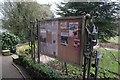 SK5461 : Notice board by Bob Harvey