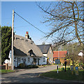 TL4148 : Foxton: the corner of Mortimers Lane by John Sutton