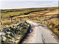 SD6613 : Smithills Moor, Coal Pit Road by David Dixon