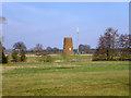 TL1439 : Old windmill, Shefford by Robin Webster