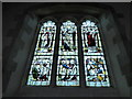 TQ3009 : All Saints, Patcham: stained glass window (I) by Basher Eyre