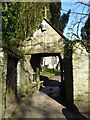 SW9175 : Lychgate to Padstow church by Philip Halling