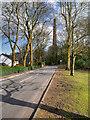 SD6911 : Barrow Bridge Road and Chimney by David Dixon