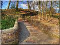 SD6811 : Barrow Bridge, Path to Smithills by David Dixon