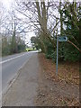 TQ1928 : Looking across bridleway junction on Brighton Road by Shazz