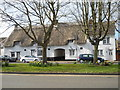 TF1703 : Thatched cottages on The Green, Werrington by Paul Bryan