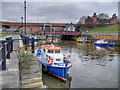 NZ2664 : Mouth of the Ouseburn by David Dixon