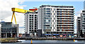 "J3475 : The ""Arc"" apartments, Titanic Quarter, Belfast (March 2016) by Albert Bridge"