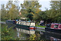 SU5967 : Narrowboat, Kennet & Avon Canal by N Chadwick