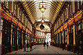 TQ3381 : Leadenhall Market by Peter Trimming
