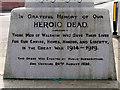 SD7711 : Walshaw War Memorial Dedication by David Dixon