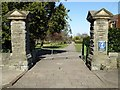 ST5971 : Entrance to Victoria Park by Philip Halling