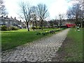 SE1437 : Salisbury Street, Shipley Central Park by Christine Johnstone