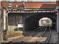 SD8010 : East Lancashire Railway, Entrance to Bury Tunnel by David Dixon