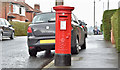 J3370 : Pillar box BT9 670, Stranmillis, Belfast (April 2016) by Albert Bridge