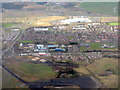 NS9364 : Whitburn from the air by M J Richardson